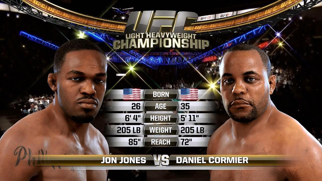 dman4life plays xbox one ea sports ufc daniel cormier vs jon jones