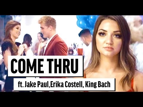 Thumbnail: Jake Paul | Erika Costell - Come Thru (Song) Katja Glieson ft King Bach (Official Music Video)