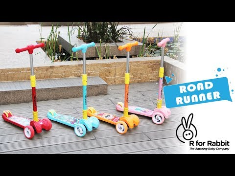 R for Rabbit Road Runner Scooter for Kids   The Smart Kick Scooter Operational Video