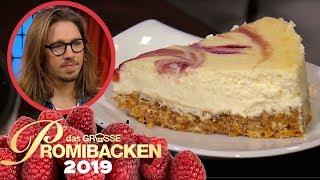 Gil Ofarim backt einen saftigen Cheesecake | Verkostung | Das große Promibacken 2019 | SAT.1 TV