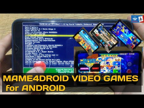 HOW TO DOWNLOAD MAME4DROID VIDEO GAMES For ANDROID
