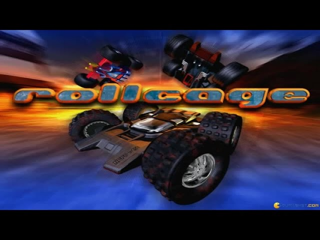 Rollcage gameplay (PC Game, 1999)