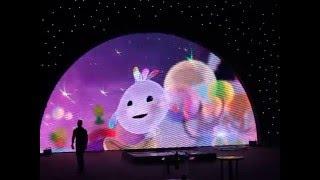 Шоу мыльных пузырей Фан Янга