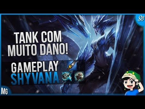 🔴 SHYVANNA JUNGLER Gameplay S8 - A Caçadora mais FORTE DO META - Farme MUITO - Maki PLay