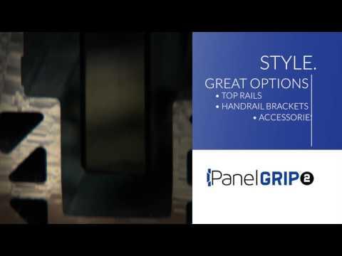 Dry Glaze Glass Railing System - PanelGrip - Wagner Railing