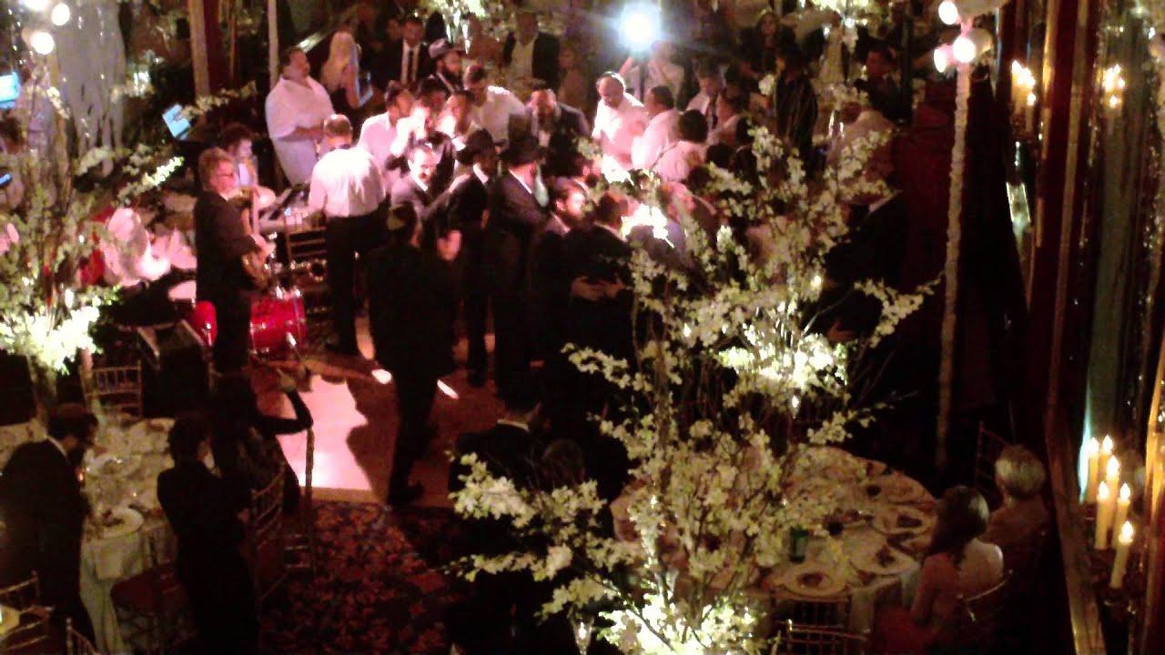 NYC Russian wedding band Russian Tea Room Jewish dance
