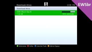 Agora vai ! solução para os downloads & Solução falta de espaço no XBOX 360
