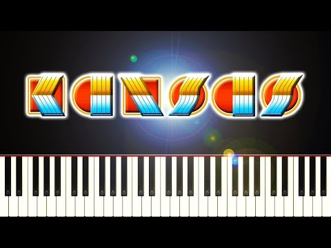 KANSAS - CARRY ON WAYWARD SON - Piano Tutorial