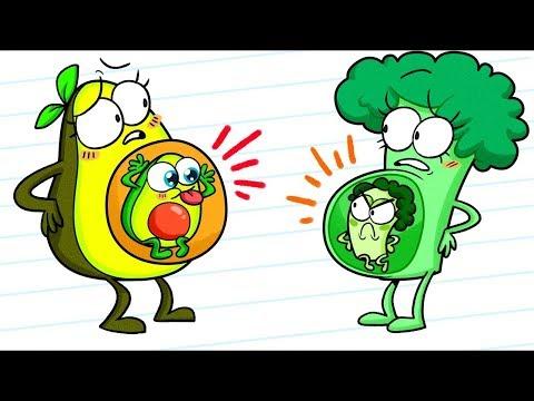 الحوامل في عالم الخضروات