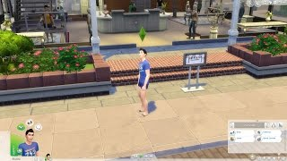Sims 4 Végigjátszás(!?!)/2 rész- Furcsa emberek élnek e sivatagban
