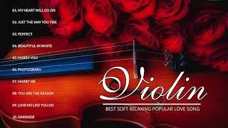 Mejor violín romántico 2020 - Mejores canciones de amor de portada de violín 2020