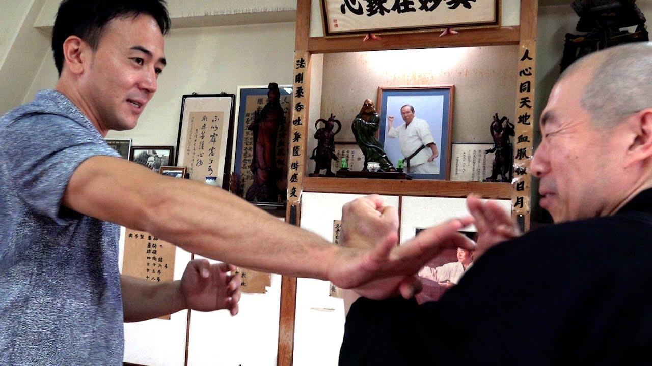 """究極の骨攻撃の秘密!沖縄剛柔流空手 SECRET of """"Bone Ultimatum"""" in Okinawa Gojyu-ryu Karate"""