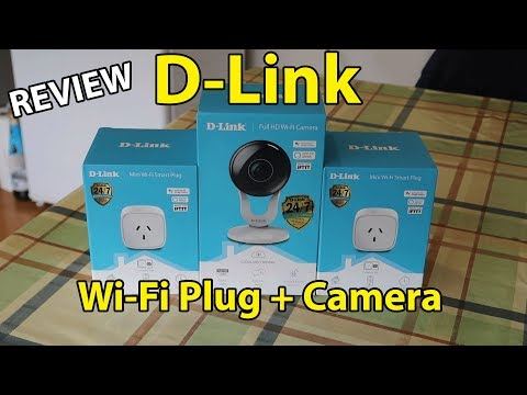 D-Link Mini Wi-Fi Smart Plug and Wi-Fi Camera Full Review - DSP-W118