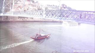 0951 🇵🇹 Porto 🚢 Falling into water from the bridge and boats