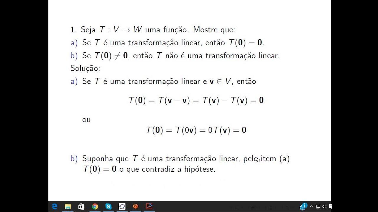 exercicios resolvidos algebra linear boldrini