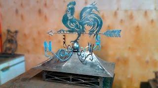 видео Изготовление кованых дымников на трубы, цены