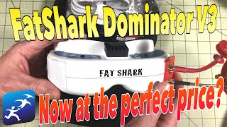 FatShark Dominator V3 Review, Now the best deal in goggles?