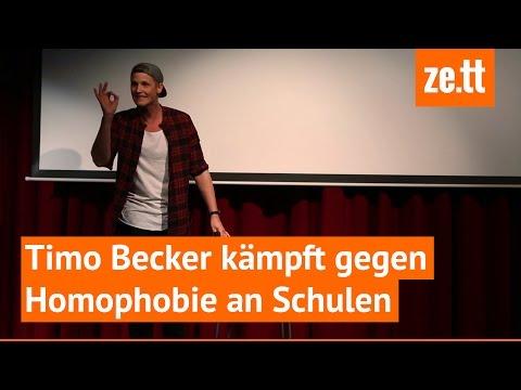 So kämpft ein Mann gegen Homophobie an deutschen Schulen