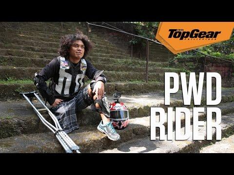 Arnel Aba: PWD, swim coach, triathlete and motorcycle rider