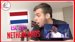 Jeangu Macrooy - Birth Of A New Age - [REACTION] - THE NETHERLANDS Eurovision 2021