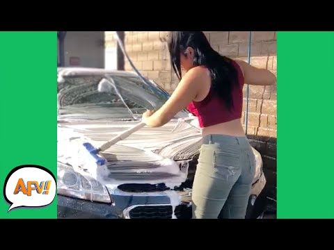 She Knows Soap is Slippery, Right? 😉🤣 | Funniest Fails | AFV 2019