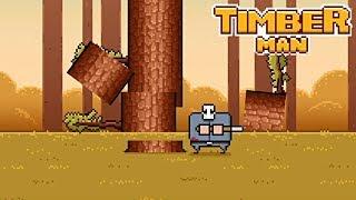 【4人実況】木を切り倒し続けるだけの地味なゲームになぜかハマる男たち