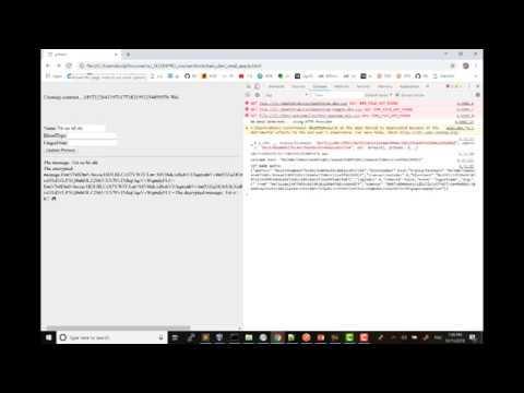 [BlockChain 4 Dev - Basic level]  Storing sensitive data