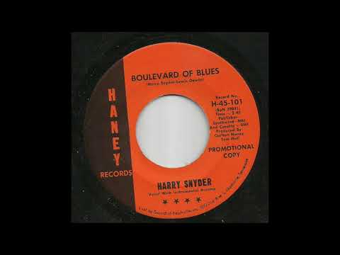 Harry Snyder - Boulevard Of Blues