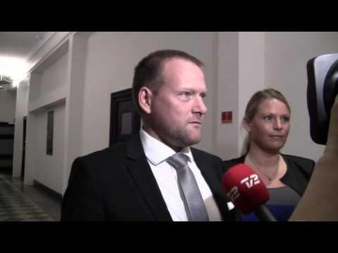 Rene Christensen efter finanslovsforhandlingerne
