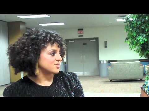 Nicole Collins s Marsha Ambrosius at the Love Letter Tour New Orleans