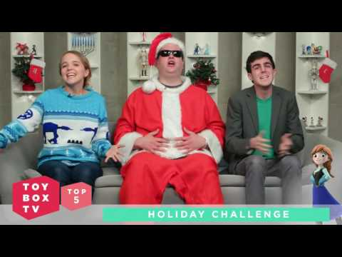 Infinity Toy Box TV Top 5 - Holiday/Xmas Challenge
