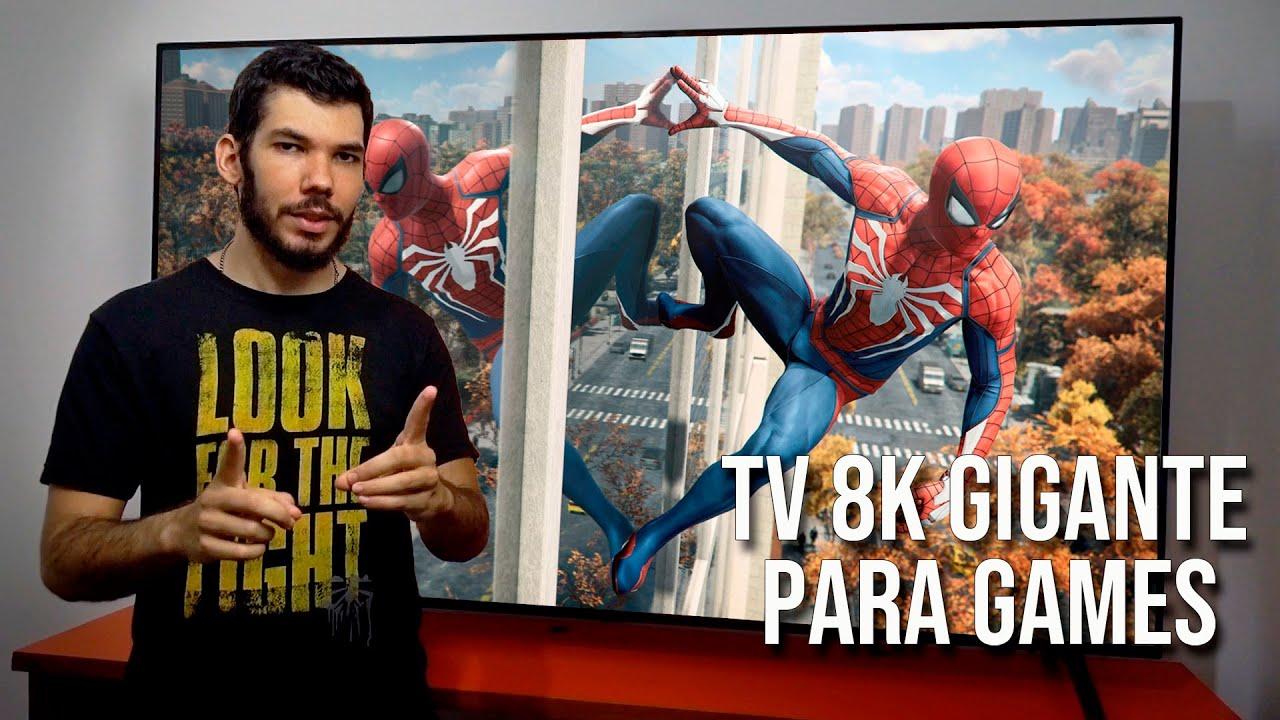 NOVA TV LG 8K GIGANTE, ÓTIMA PARA GAMES! | Melhor opção para PS5 e Xbox Series X?