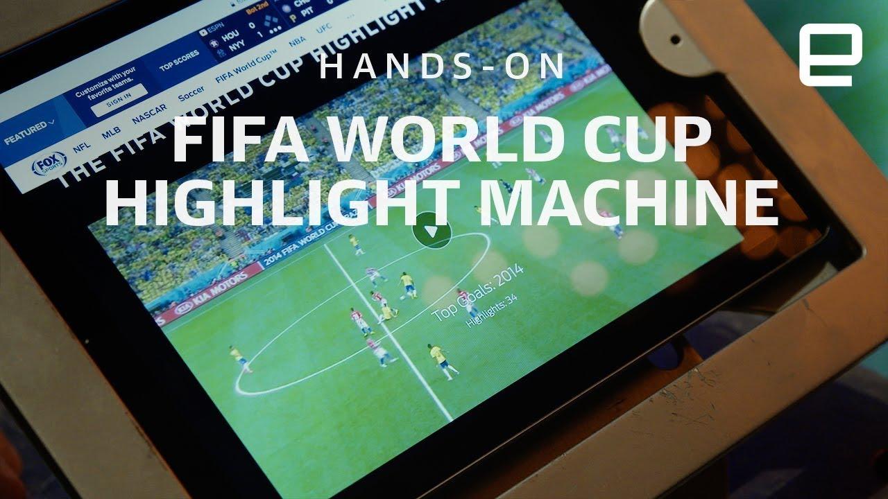 Fox Sports' World Cup Highlight Machine Hands-On