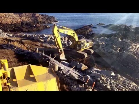 Roman Engineering self-performs Coastal Bank & Slope Stabilization project