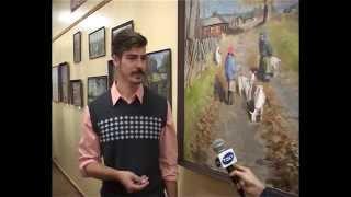 Выставка А. Чирко в КОНБ  им. Н. Асеева