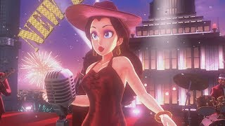Super Mario Odyssey 100% Walkthrough Part 6 - Metro Kingdom (All Moons & Purple Coins)