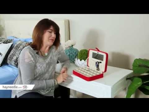 Mele Renee Jewelry Box - 10.5W x 2.25H in. - Product Review Video
