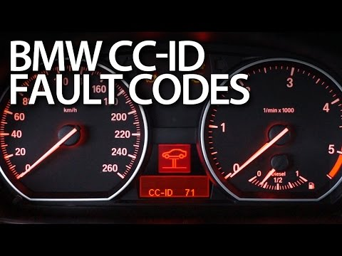 Reading BMW CCID codes of warning messages E87, E90, E60, X5 E70, E63
