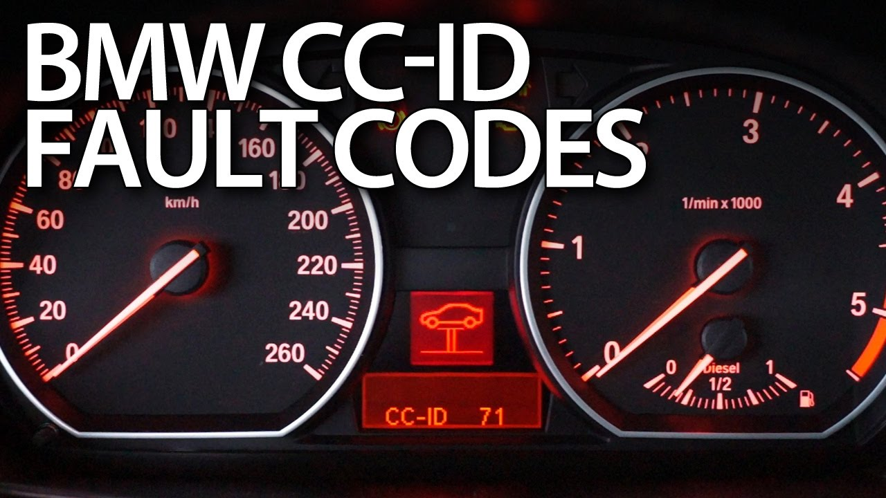 Reading Bmw Cc Id Codes Of Warning Messages E87 E90 E60 X5 E70 E63 Youtube