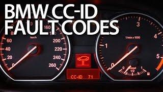Reading BMW CC-ID codes of warning messages (E87, E90, E60, X5 E70, E63)