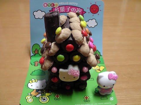 ie House   Lepenski VirHello Kitty Chocolate House  Okashi no ie  キティちゃん手づくりお菓子の家