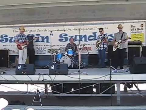 "Frankie & the Pool Boys: ""Cap'n Coconuts TV Theme"" - Huntington Beach Pier 2014"