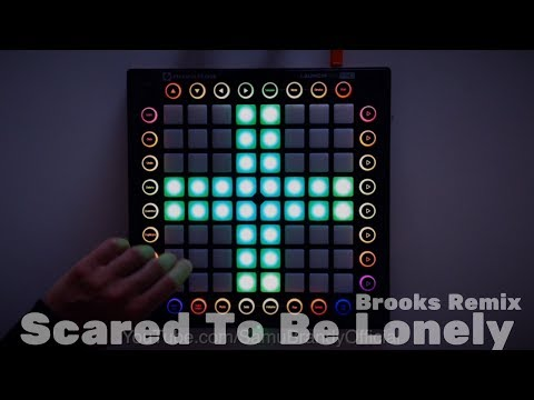 Martin Garrix & Dua Lipa - Scared To Be Lonely Brooks Remix  Launchpad Pro Cover