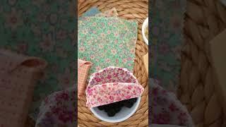 Turn cotton fabric into reusable food wraps!
