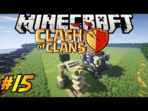Clash Of Clans In Minecraft | Making Of #15 | Dark Elixir Drill, Clan Castle