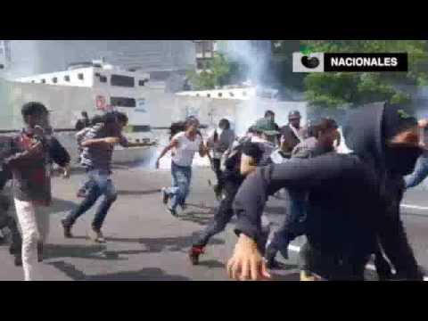 Así fue como el diputado Freddy Guevara salvó a un ciudadano de la GNB (vía Caraota Digital)