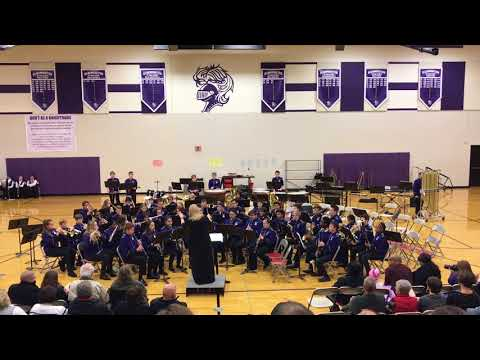 "BJHS 8th Grade Band - ""Where Eagles Soar"" by Steven Reineke"