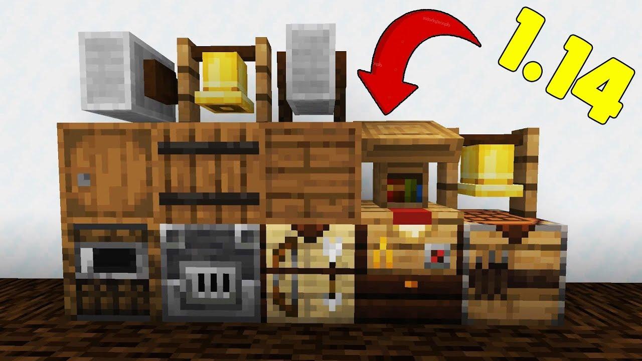 Minecraft 1 14 Snapshot 18w44a Blast Furnace, Grindstone