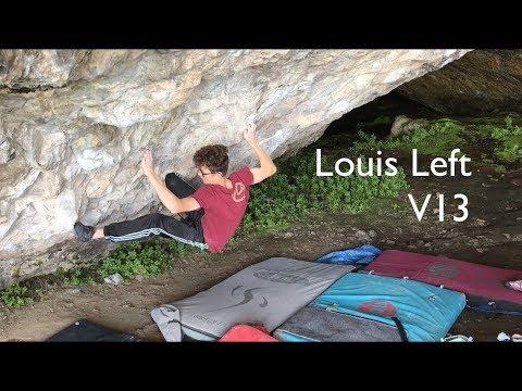 Leo Skinner on Louis Left (Font 8B)
