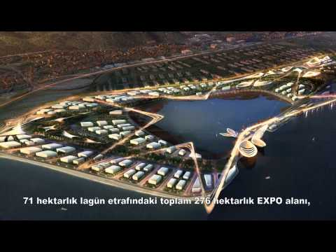 IZMIR -- TURKEY, EXPO 2020 Candidate City   İnciraltı Site Movie 3D)